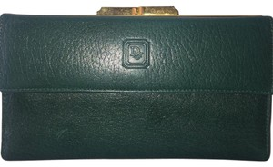 Dior green with gold hardware Clutch