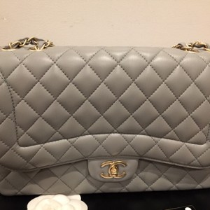 Chanel Mademoiselle Chic Flap Jumbo Cross Body Bag
