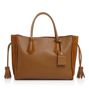 3badfeba1 Added to Shopping Bag. Longchamp Tote in curry. Longchamp Medium Penelope  Fantaisie Curry Leather ...