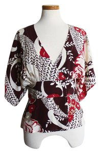 Paul & Joe & Designer Kimono Top Multicolor