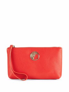 Versace Collection Versace Summer Spring Red Clutch