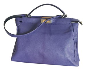 Fendi Satchel in Purple