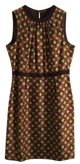 Preload https://img-static.tradesy.com/item/21179313/milly-brown-and-lime-green-silk-pencil-mid-length-workoffice-dress-size-10-m-0-1-650-650.jpg