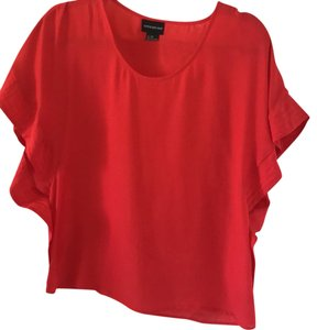 Central Park West Top red