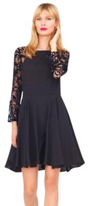 Yumi Kim short dress Black Silk Lace Cocktail Little A-line on Tradesy