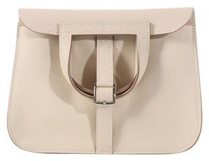 Herms Hr.l0223.01 Cream Ivory Swift Leather Cross Body Bag