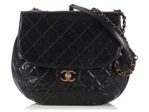 Chanel Quilted Bubble Cc Ch.l0216.16 Ghw Shoulder Bag
