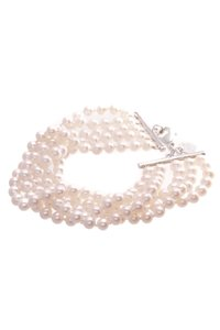 Tiffany & Co. Tiffany & Co. Sterling Silver Pearl Ziegfeld Collection Bracelet