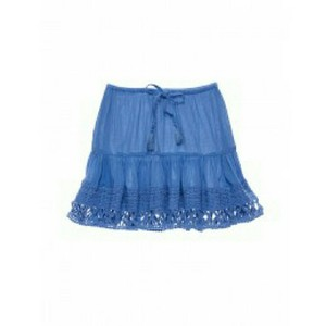 Victoria's Secret Mini Skirt Blue