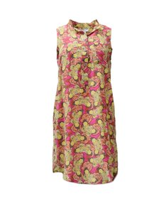 Nieves Lavi short dress Pink multi color on Tradesy