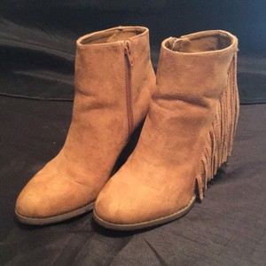Forever 21 Cognac Boots