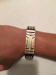 Tory Burch TORY BURCH FOR FITBIT METAL HINGED BRACELET 888736128782