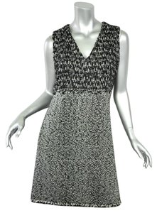 Chanel short dress BLACK Boucle Tweed on Tradesy