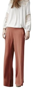 Joie Wide Leg Pants terra-cotta
