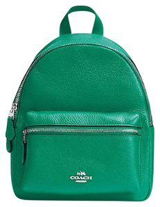 Coach F38263 Charlie Leather Backpack