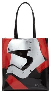 Bloomingdale's Tote in Red and Black