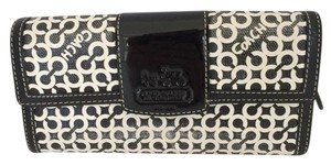 Coach LARGE BIFOLD WALLET BLACK