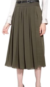 Vince Camuto Skirt Olive Green