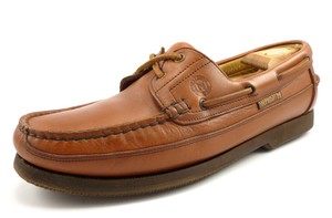 Mephisto Men's Hurrikan Leather Boat Deck Shoes