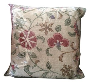 Beige Gold Green Terracotta Purple Two Cushions V&a Collection Decoration