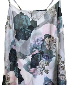 H&M Top turquoise, white, lilac