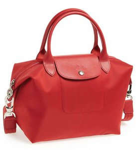 'Le Pliage Neo - Small' Tote Tote in Red