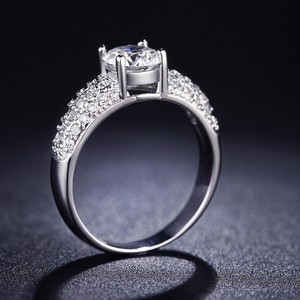David's Bridal 1 Carat Diamond Ring 925. I'll Size In Stock One Carat Band Proposed Engagement Wedding