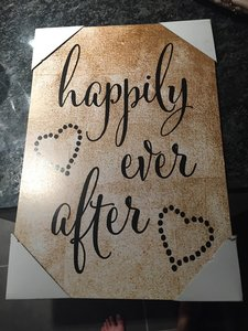 """""""happily Ever After"""" Sign"""
