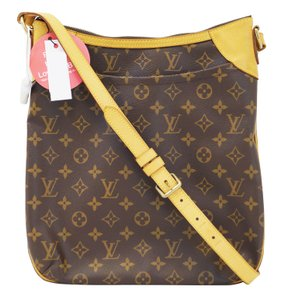 Louis Vuitton Lv Odeon Mm Monogram Shoulder Bag