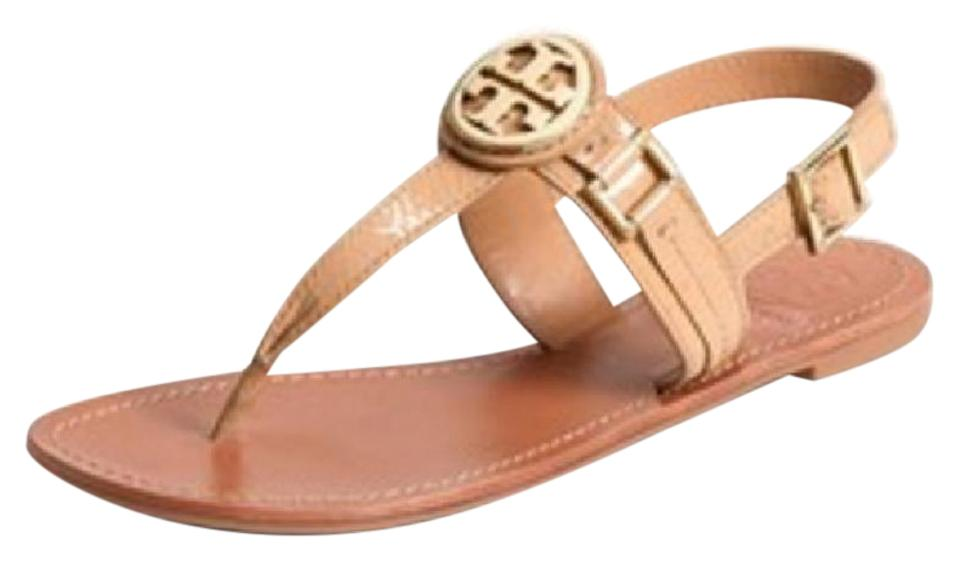 172e9a52f08e Tory Burch New Patent Leather Cassia Flat Thong Sandals Size US 9.5 ...