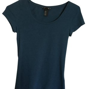 H&M T Shirt Turquoise