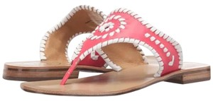 Jack Rogers Pink/White Sandals