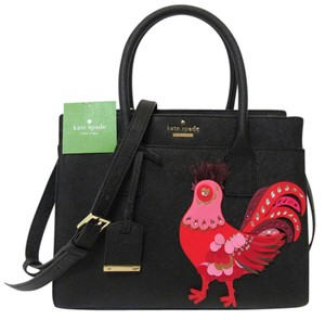 Kate Spade Limited Edition Leather Tote in Black