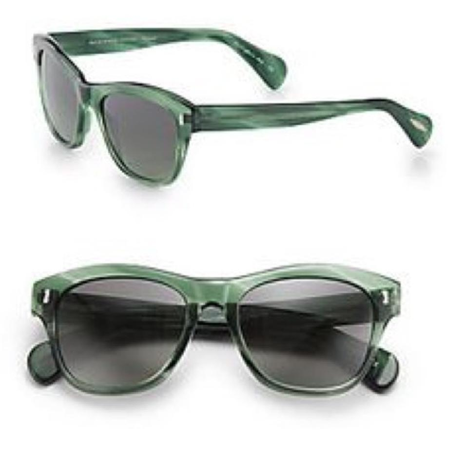 Oliver Peoples Green Sofee Sunglasses - Tradesy