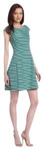Lilly Pulitzer Striped Structured A-line Stretchy Dress