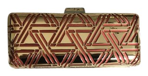 BCBGMAXAZRIA Gold Clutch