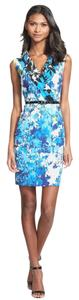Marc New York Floral V-neck Dress