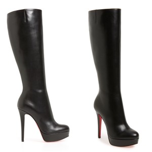 Christian Louboutin Redsole Loubs black Boots