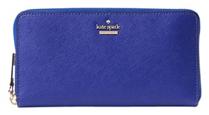 Kate Spade New Kate Spade Cameron Street Lacey Zip Around Wallet Nightlife Blue