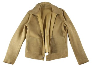 Loro Piana Bomber Suede Leather Leather Jacket