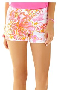 Lilly Pulitzer Mini/Short Shorts Pink, Orange, Yellow, White