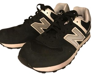 New Balance black and white Athletic