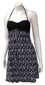 Kenneth Cole short dress black white on Tradesy