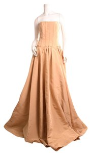 Angel Sanchez Evening Gown Silk Organza Dress