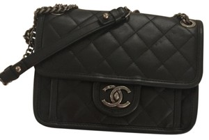 Chanel French Riviera Easy Flap Caviar Classic Flap Shoulder Bag