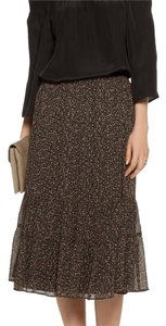 Joie Skirt black with floral print