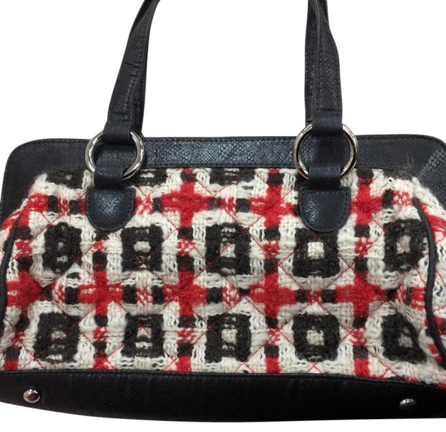 Item - Unknown Multi Color Cloth and Leather Satchel