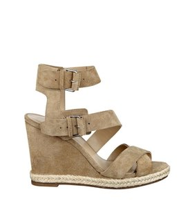 Marc Fisher Nude Wedges