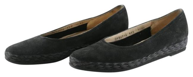 Item - Black Boutique Suede Flats Size US 7.5 Narrow (Aa, N)