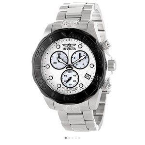 Invicta Capris Black and stainless steel